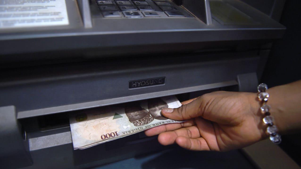 ATM-machine
